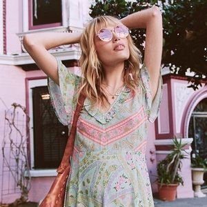 Spell & Gypsy Collective City Lights Mini Dress